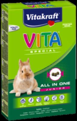 Snacks y comida para conejos